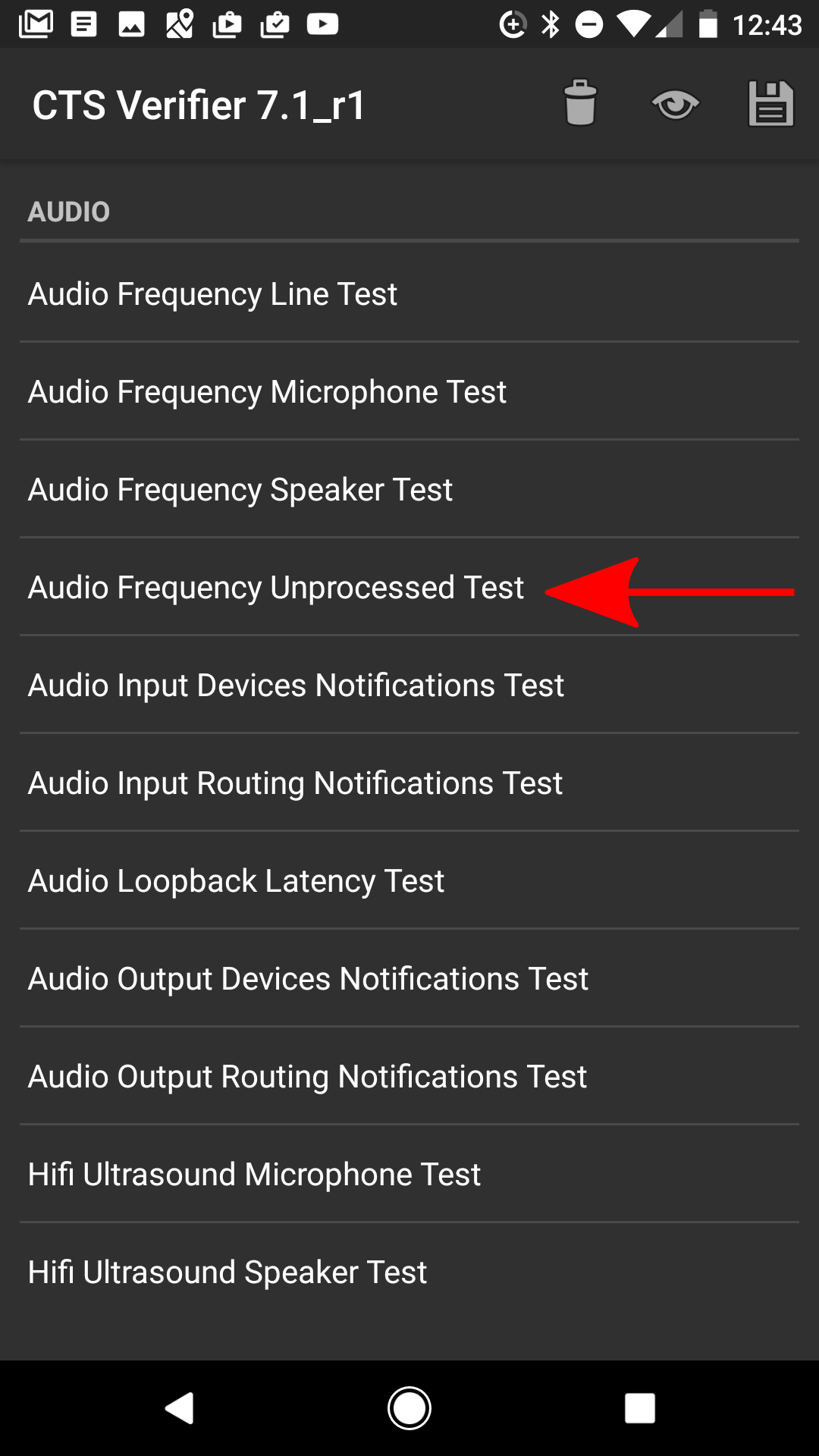 Audio Framework CTS Verifier | Android Open Source Project