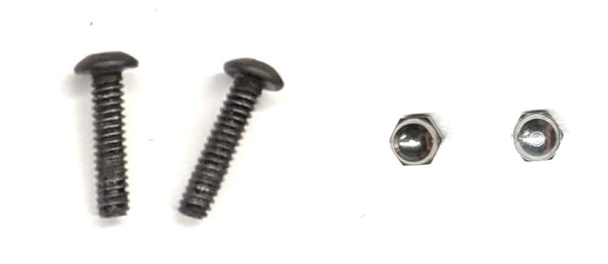 screws and cap nuts