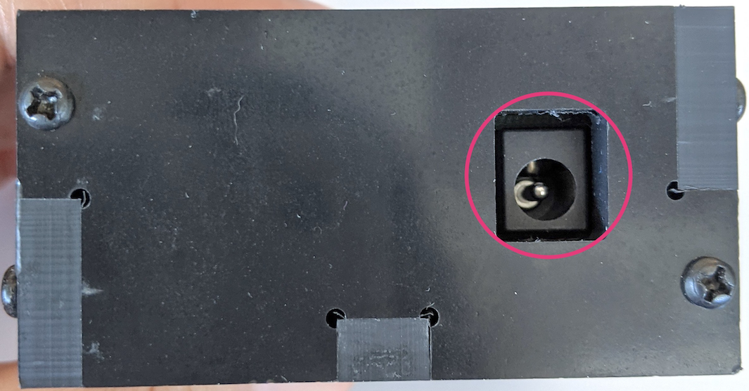 Connecting servo control to power