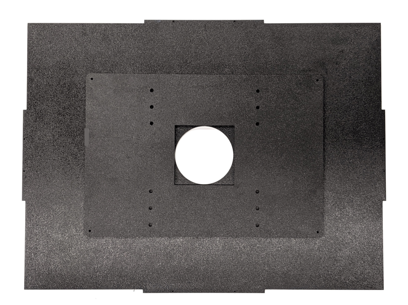 Assembled front aperture plate